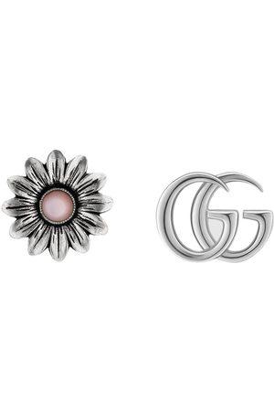Gucci Double G flower stud earrings