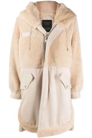 Mr & Mrs Italy Elizabeth Sulcer's Capsule Cotton Drill, Shearling AND Leather Parka