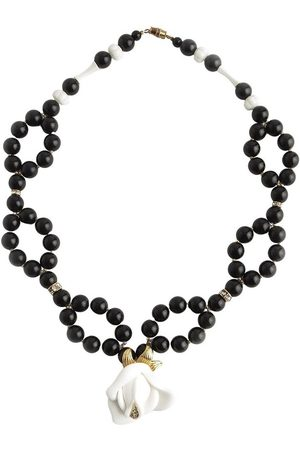 Kenneth Jay Lane Pearled necklace