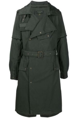 Mr & Mrs Italy Nick Wooster Capsule Trench With Lamb FUR