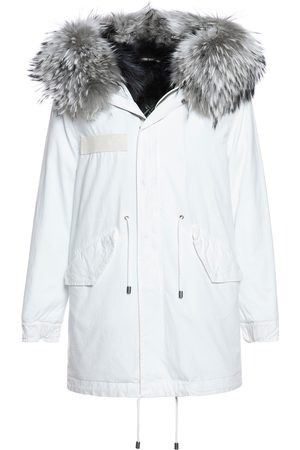 Mr & Mrs Italy Jazzy Parka Midi With Raccoon FUR