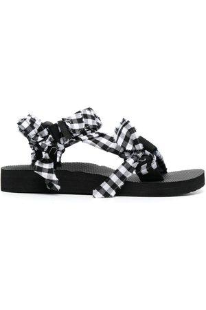 Arizona Love Kvinna Sandaler - Trekky check-print sandals