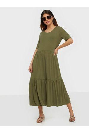 JACQUELINE DE YONG Kvinna Klänningar - Jdydalila Frosty S/S Dress Jrs Noos Loose fit dresses