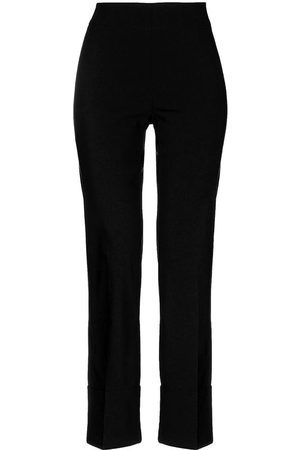 AVENUE MONTAIGNE Straight Pants With Lapel