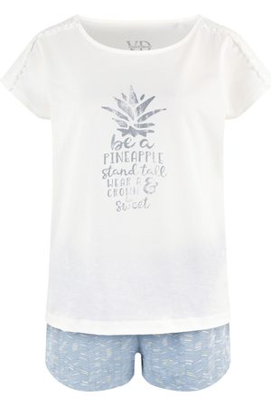 VIVANCE Kort pyjamas 'VD Pineapple
