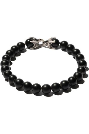 David Yurman Man Armband - Spiritual Beads black onyx bracelet