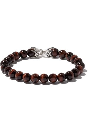 David Yurman Man Armband - Spiritual Beads red tiger eye bracelet