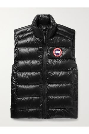CANADA GOOSE Crofton Slim-Fit Quilted Recycled Nylon-Ripstop Down Gilet