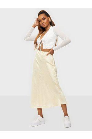Object Kvinna Midikjolar - Objyalanda Hw Midi Skirt 115 .C Midikjolar