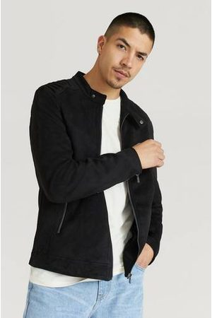 William Baxter Man Skinnjackor - Jacka Fake Suede Racer Jacket