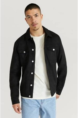 William Baxter Man Skinnjackor - Jacka Fake Suede Trucker Jacket