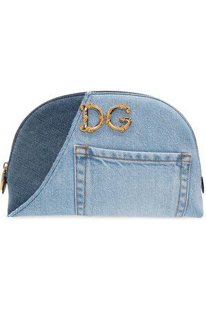 Dolce & Gabbana Denim wash bag