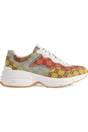 Gucci Men's Rhyton GG Multicolour sneaker