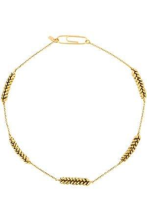 Aurélie Bidermann Kvinna Halsband - Wheat-shape necklace