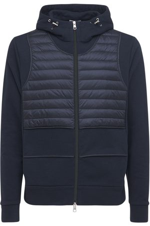 Moncler Genius Craig Green Zip-up Cotton & Down Jacket