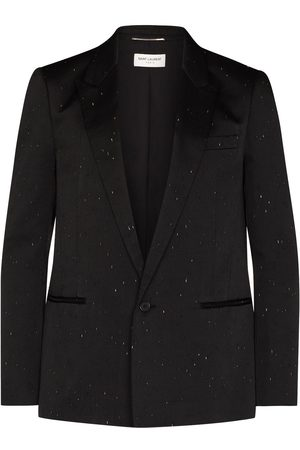 Saint Laurent Man Kavajer - Scratch-detail blazer