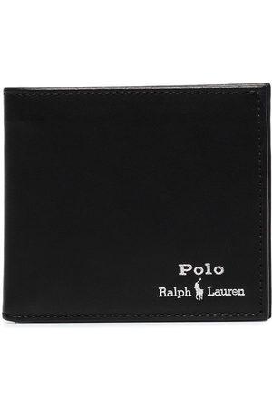 Polo Ralph Lauren Man Plånböcker - Logo-embroidered bifold wallet