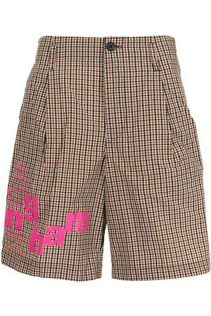 Kolor Skotskrutiga shorts