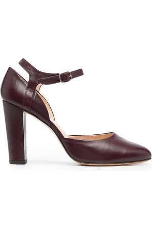 Tila March Kvinna Pumps - Mambo pumps med ankelrem