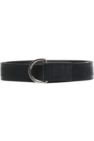 A-cold-wall* Man Bälten - Logo band leather belt