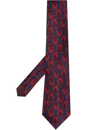 Lanvin Paisleymönstrad slips från 1970-talet