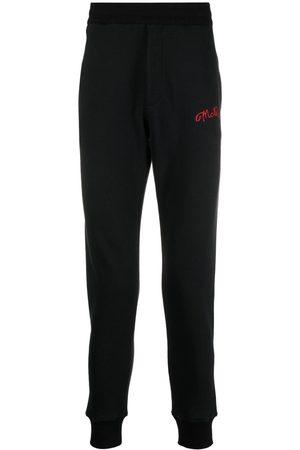 Alexander McQueen Man Joggingbyxor - Trackpants med broderad logotyp