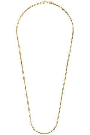 TOM WOOD Man Halsband - Guldpläterat kedjehalsband