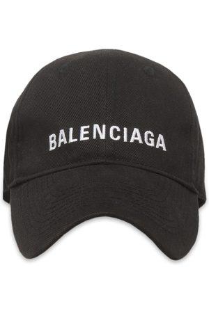 Balenciaga Kvinna Kepsar - Basebollkeps med broderad logotyp