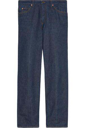Gucci Man Straight - Straight-jeans med tvättad effekt