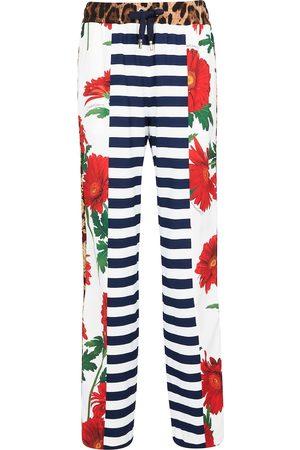 Dolce & Gabbana Patchwork drawstring pants