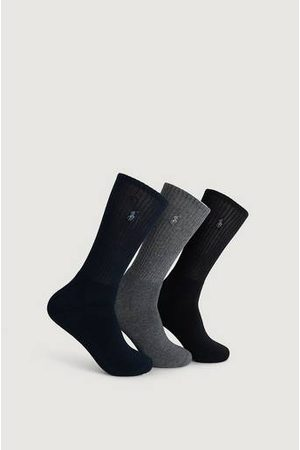 Polo Ralph Lauren 3-Pack Strumpor Crew Socks Multi