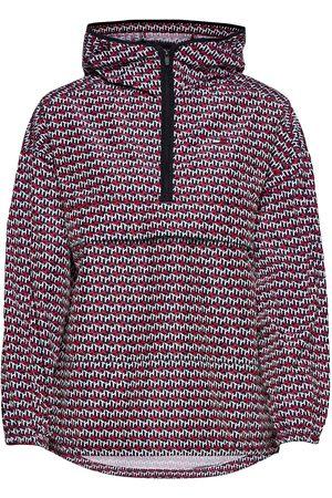Tommy Sport Kvinna Jackor - Pullover Aop Poly Jacket Outerwear Sport Jackets Multi/mönstrad
