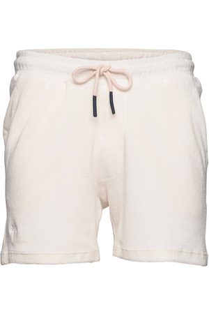 Oas White Terry Shorts Shorts Casual