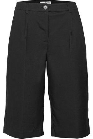 SELECTED Kvinna Bermudashorts - Slfpas Mw Shorts B Bermudashorts Shorts Vit
