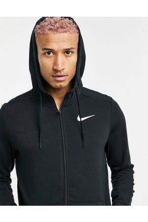 Nike – Dri-FIT – huvtröja med fleece