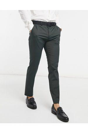 SELECTED Man Dressade byxor - – Gröna kostymbyxor- /a