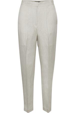 Soaked in Luxury Kvinna Dressade byxor - Sun Newton Pants