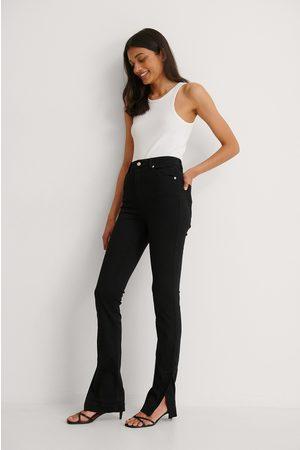 NA-KD Ekologiska Skinny Jeans Med Hög Midja Och Sidoslits