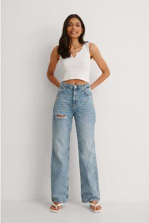 Trendyol Jeans Med Hög Midja