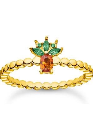 Thomas Sabo Ring ananas guld