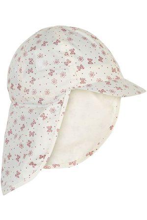 EN FANT Flicka Hattar - Legionärshatt - Marshmallow White m. Print