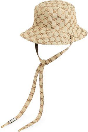 Gucci Kvinna Hattar - Reversible hat in GG canvas and nylon