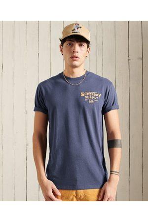Superdry Heritage Mountain t-tröja i avslappnad passform