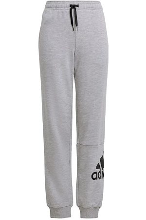 adidas Joggingbyxor - Sweatpants - B - Gråmelerad/