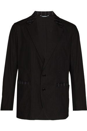 Dolce & Gabbana Blazer med randig kant