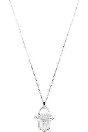 Chopard Halsband i 18K vitguld med diamanthänge