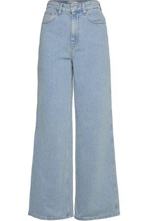 Gestuz Kvinna Utsvängda byxor - Elmagz Hw Wide Pants Vida Jeans