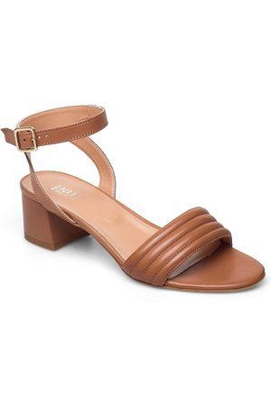 A Pair Kvinna Sandaler - Padded Dimpel Sandal Sandal Med Klack