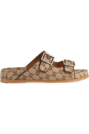 Gucci Men's slide sandal with straps