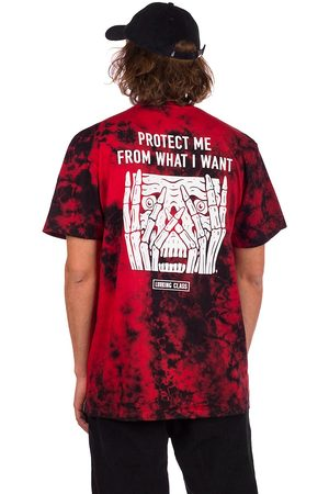 Lurking Class Protect T-Shirt red tie dye